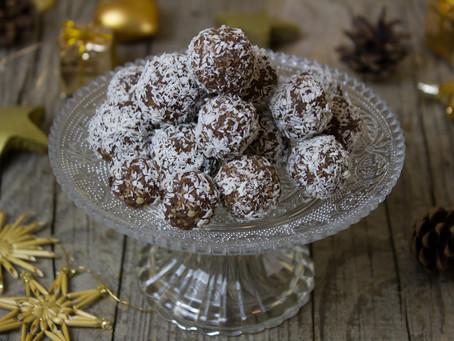 No Bake Coconut Rum Balls Recipe