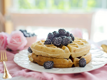 Easy Fluffy Waffles