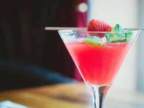 Strawberry Mint Martini