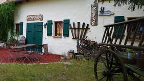 Außenbereich für Gäste