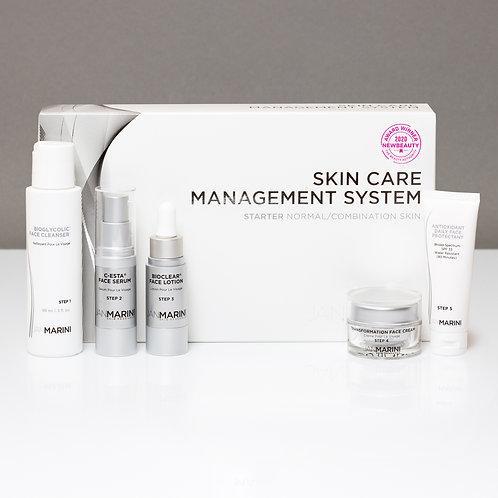 Starter Skin Care Management System