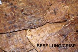 Beef Crisp/Puff/Lung Dog Treat