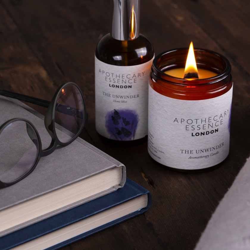 The Unwinder candle