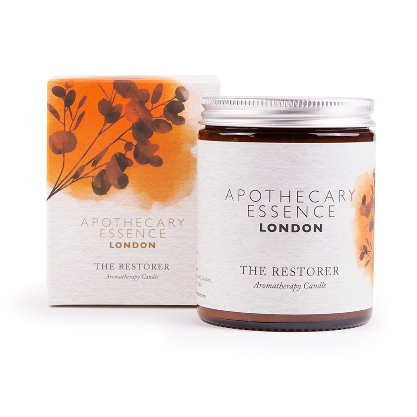 The Restorer candle