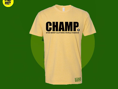 Champ T-Shirt Yellow/Black