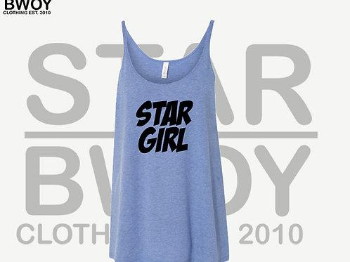 Star Girl Canvas Tank