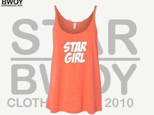Star Girl Canvas Slouchy Tank