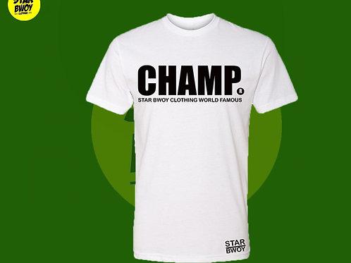 Champ T-Shirt Black/w