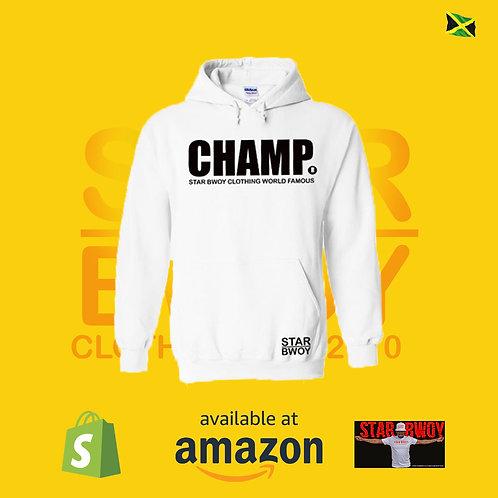 Star Bwoy Champ (White)