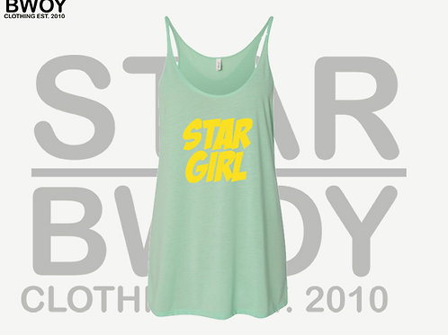 Star Girl Canvas Tank