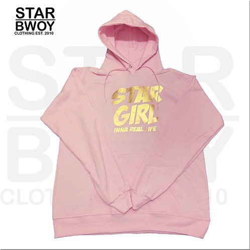 Star Girl Hoodies Pink