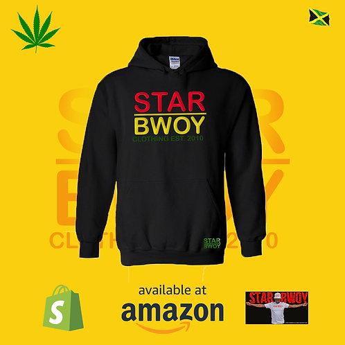 Star Bwoy Hoodie Rasta