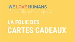 LA FOLIE DES CARTES CADEAUX