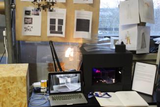 Exhibition setting
