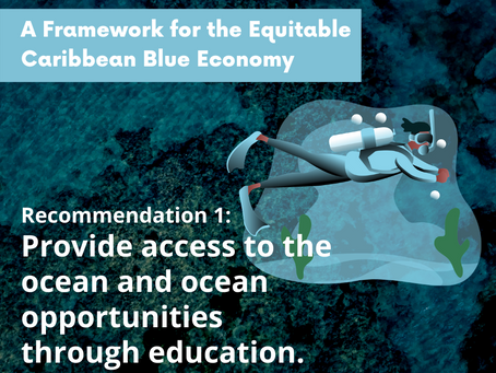Here's A Framework for the Equitable Caribbean Blue Economy.