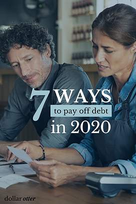 How To Pay Off Debt in 2020 - Pinterest.