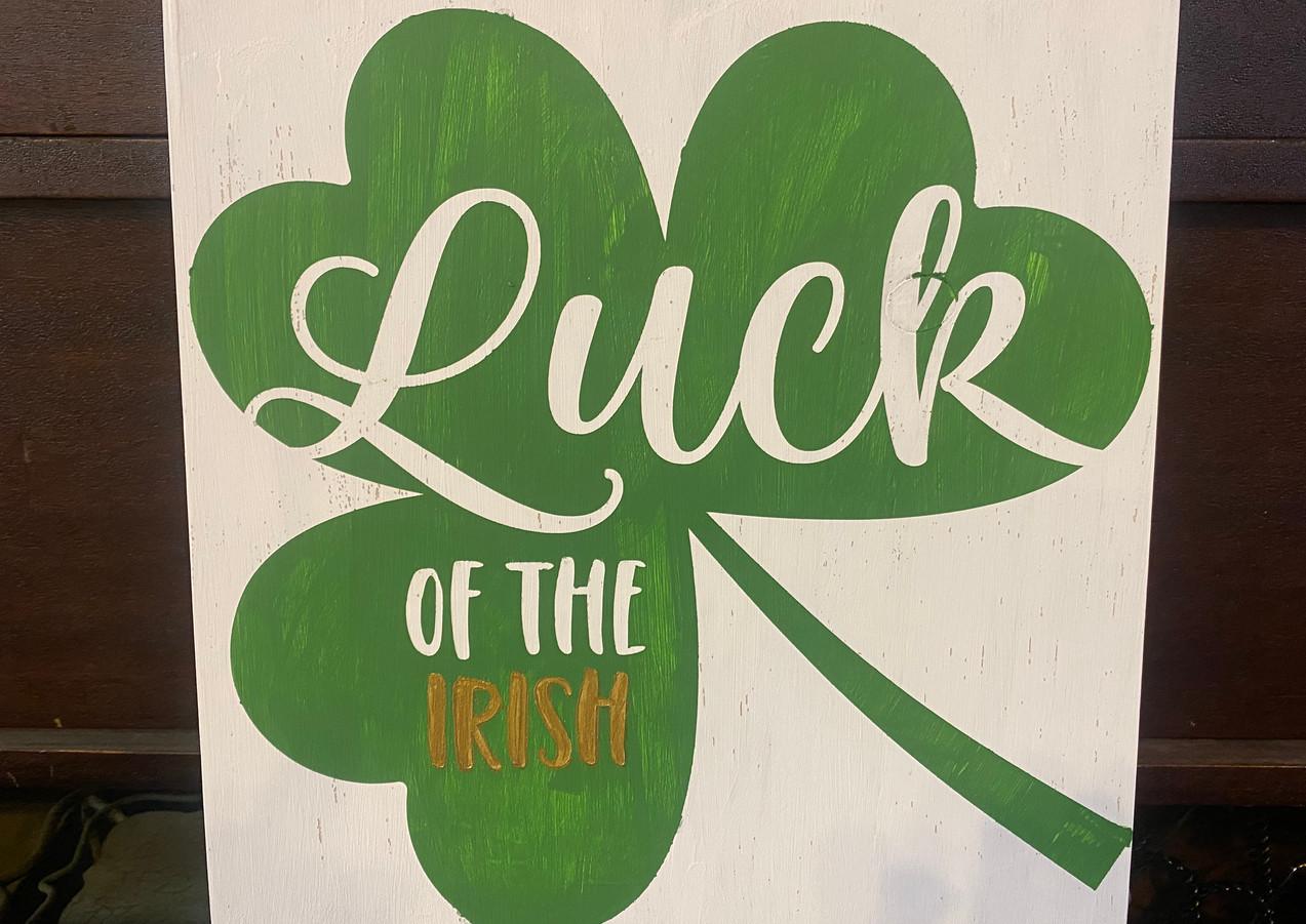Luck of the Irish Class