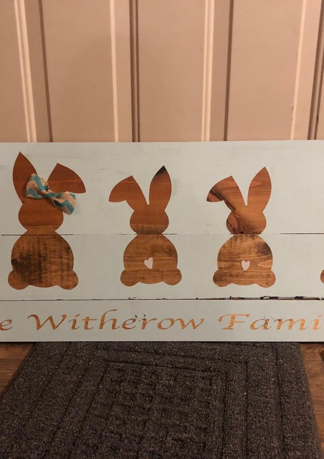 Bunny Sign Class