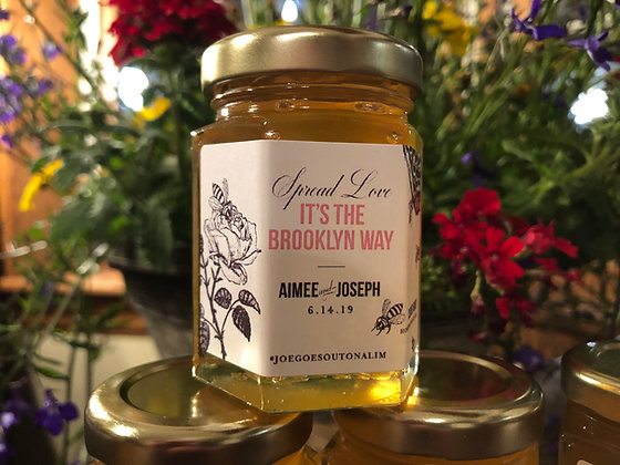 Wedding Favor - Hex Jar (summer honey)
