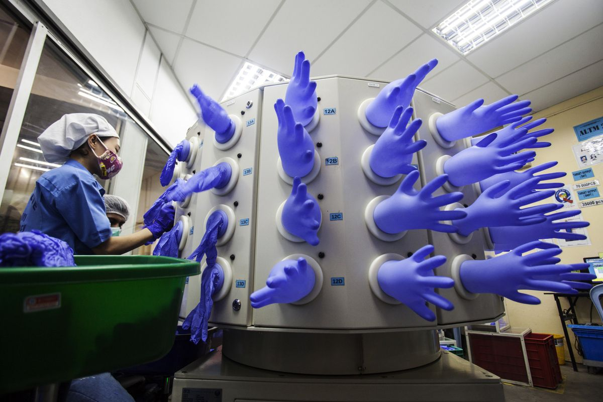 Order bulk nitrile gloves online here