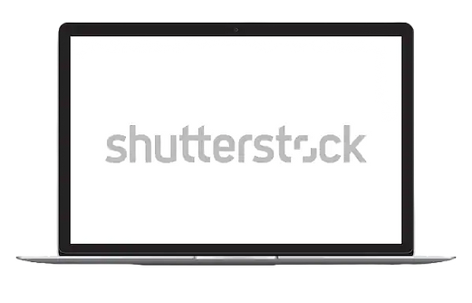 vector-illustration-laptop-blank-screen-