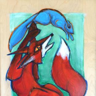 Pirouette: Fox & Squirrel