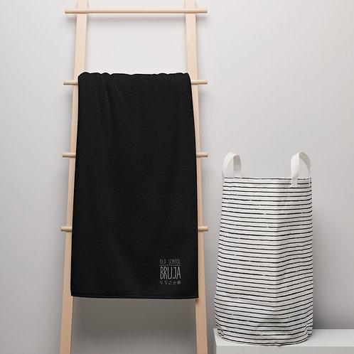 Old School Bruja Luxe Turkish Cotton Oversized Towel