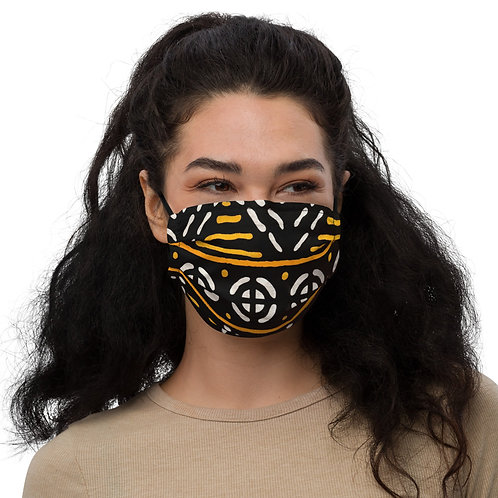 Ankara Print Premium face mask