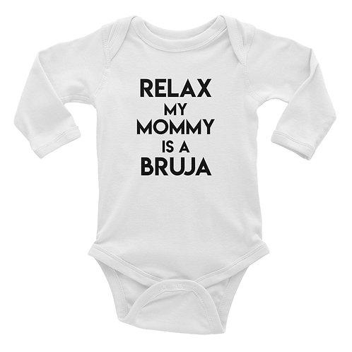 Infant Long Sleeve Bodysuit/ Relax