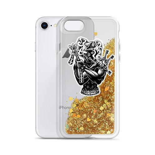 Orisha Ellegua/ Esu Liquid Glitter Phone Case