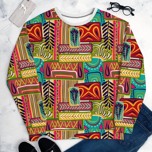 Ankara Print Unisex Sweatshirt