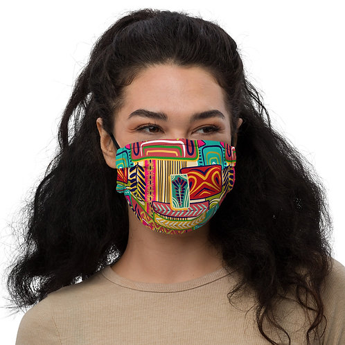 Ankara Premium face mask