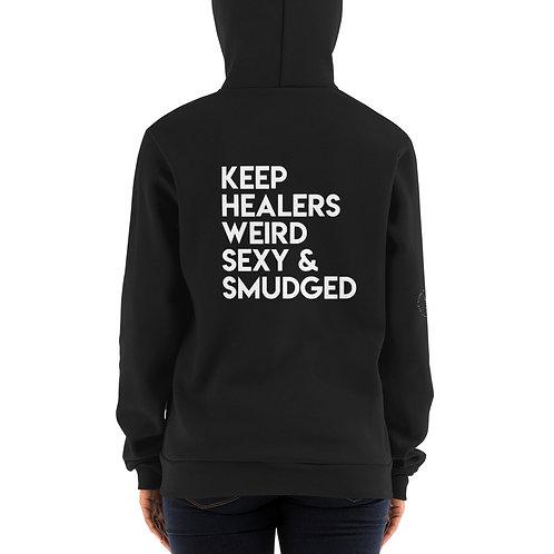 Hoodie Zipper sweater/Keep Healers