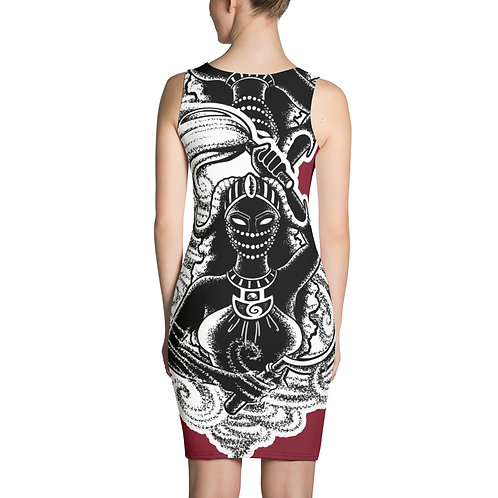 Oya Sublimation 4-way Stretch Dress for ALL