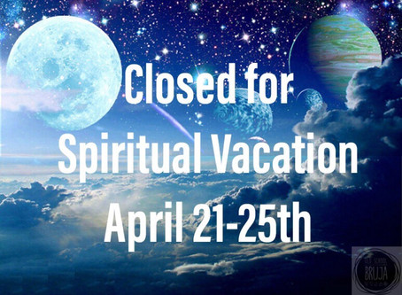 Spiritual Vacations: Necessary for self care.