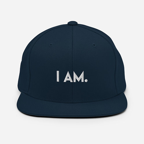 I AM. /Snapback Hat