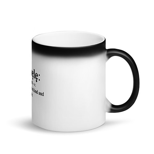 Color Changing Black Magic Mug/Iwa Pele