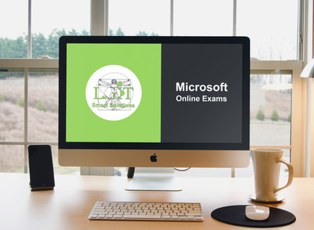 How to Take your Microsoft Exam Online