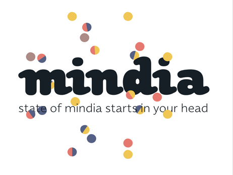 newspaper design 'mindia'