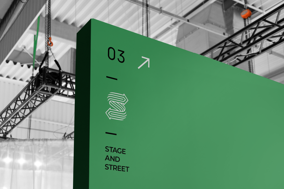 Stage and Street Logo Redesign