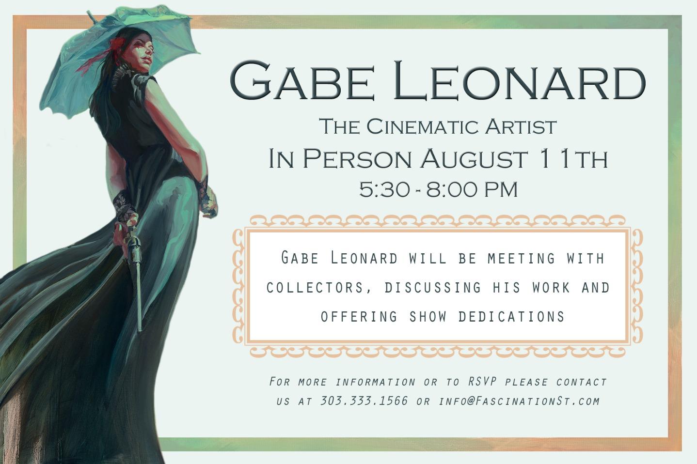 Gabe Leonard Event - Back