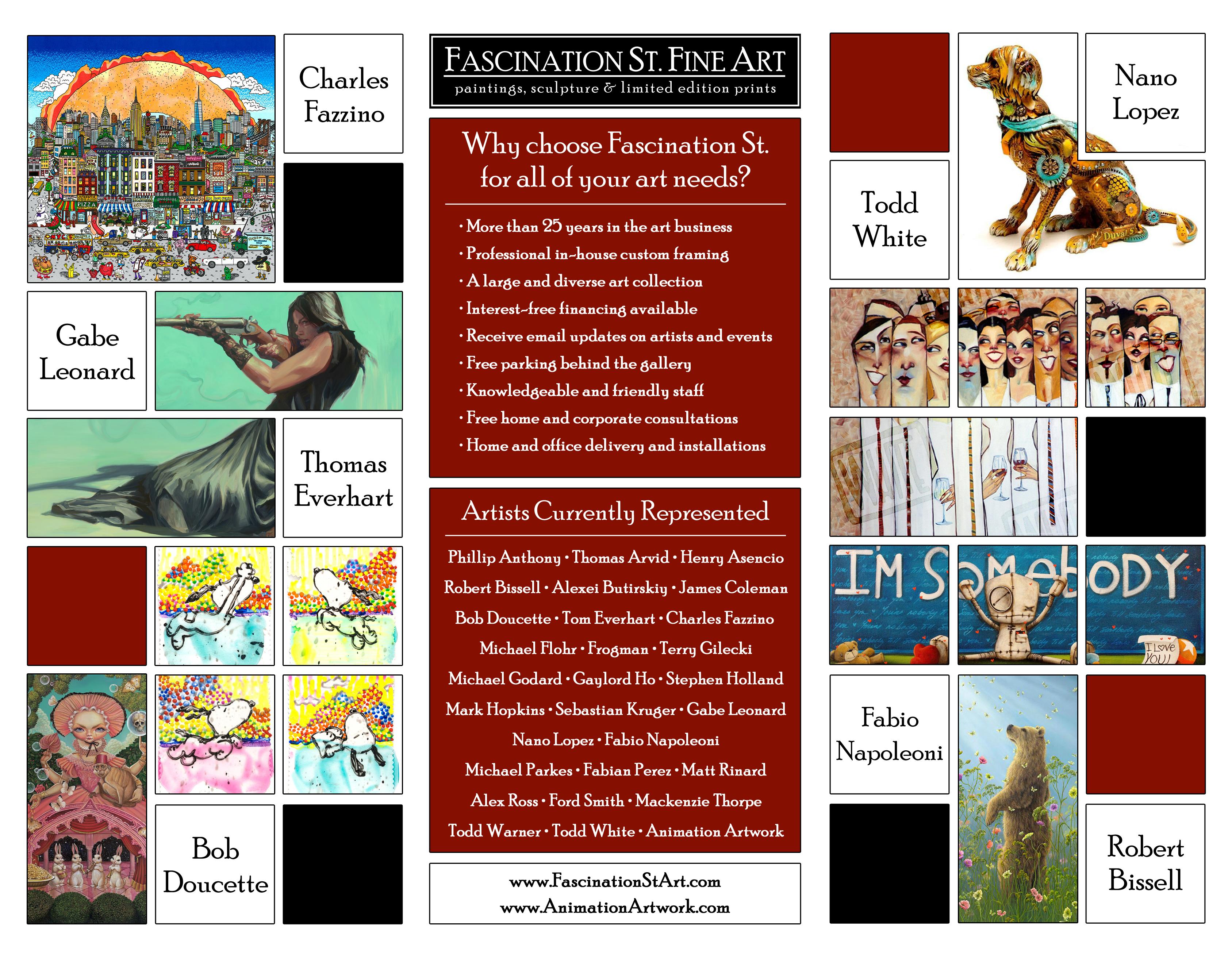 Gallery Brochure - Inside