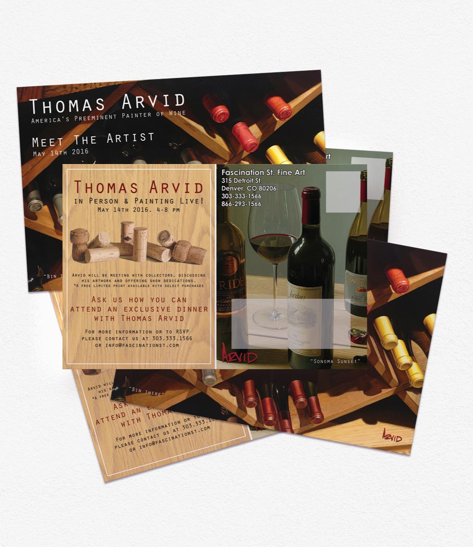 Thomas Arvid Event Postcard