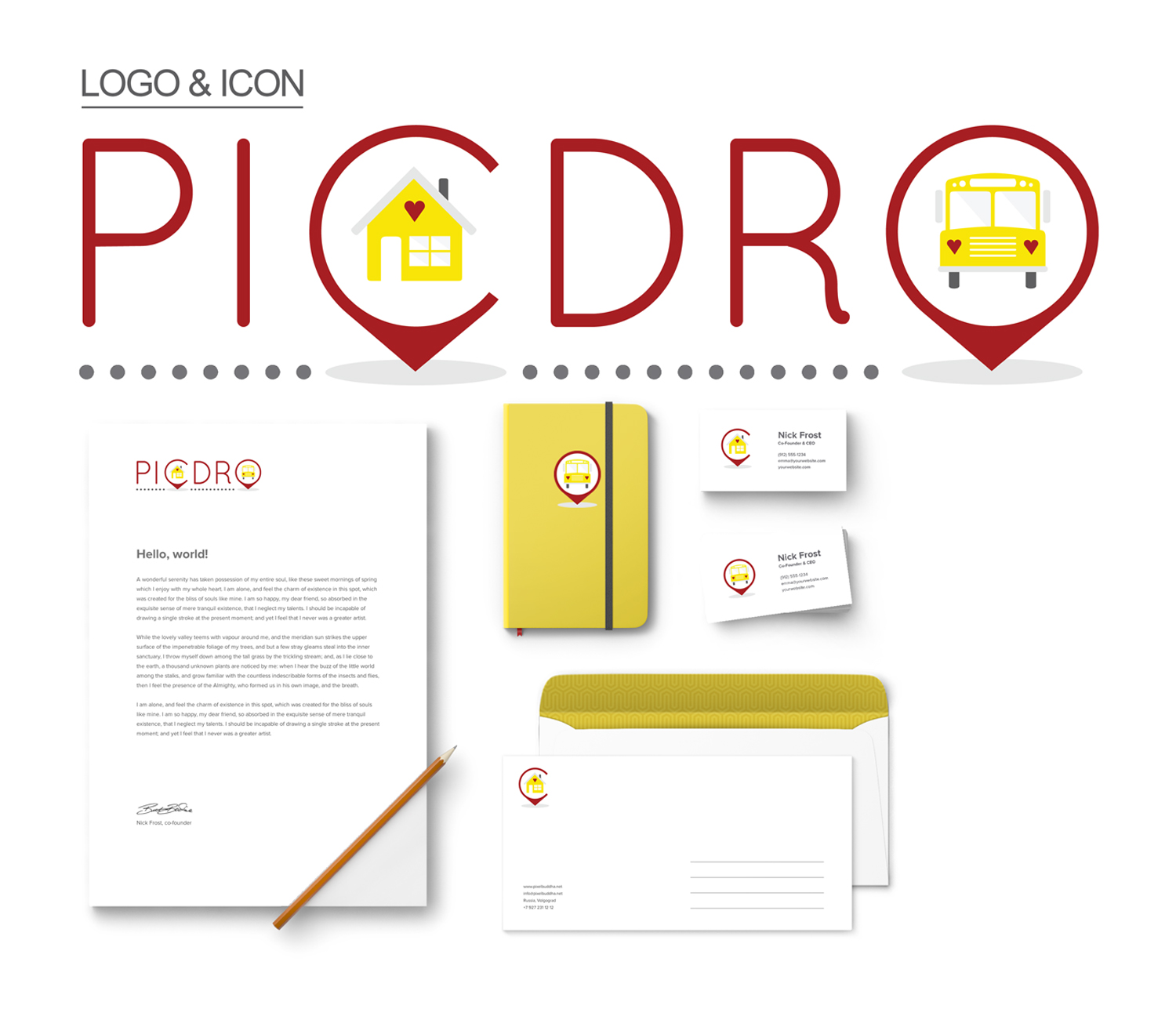 PICDRO Mock Up