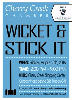 Wicket & Stick It Event - Front