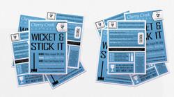 Wicket & Stick It Postcard