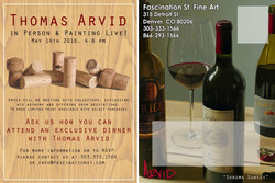Thomas Arvid Event - Back