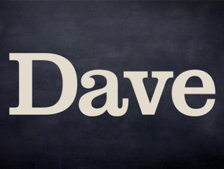 I've been voted DAVE's 4th best joke of the Fringe!