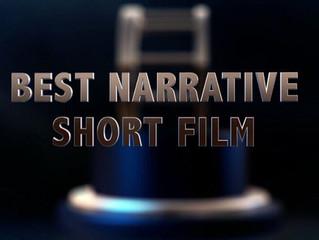 BEST NARRATIVE SHORT FILM at InterShort Online Film Awards