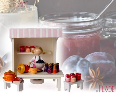 Marktstand Marmeladenküche